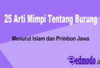 25 Arti Mimpi Tentang Burung - Menurut Islam dan Primbon Jawa