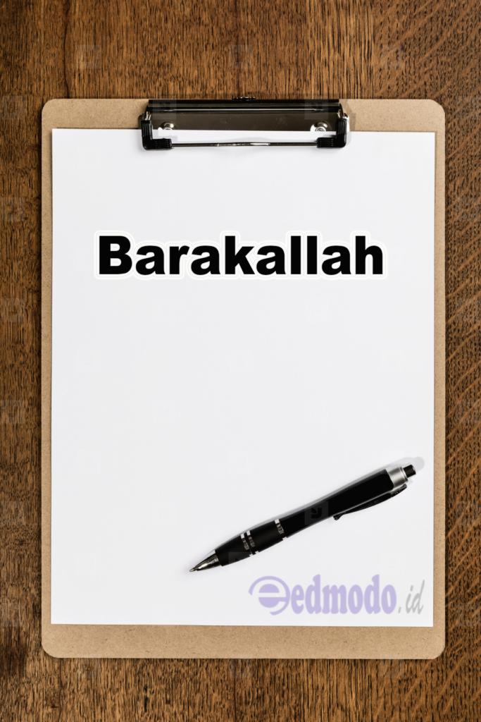 Barakallah