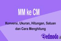 MM ke CM