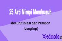 25 Arti Mimpi Membunuh - Menurut Islam dan Primbon (Lengkap)
