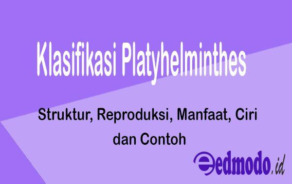 Klasifikasi Platyhelminthes - Struktur, Reproduksi, Manfaat, Ciri dan Contoh