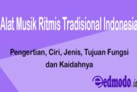 Alat Musik Ritmis Tradisional Indonesia
