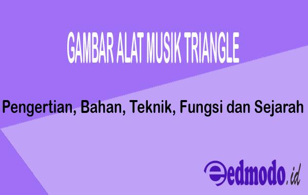 Gambar Alat Musik Triangle