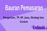 Bauran Pemasaran - Pengertian, 7P, 4P, Jasa, Strategi dan Contoh