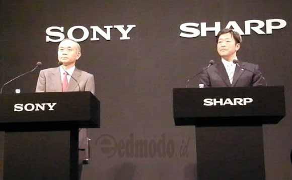 Sony dan Sharp