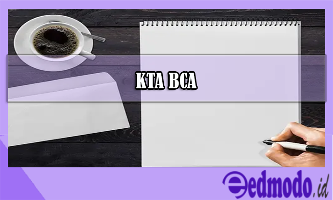 KTA BCA